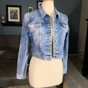 Mavi Jeans Cropped Jean Jacket